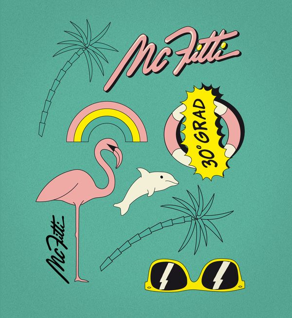 MC Fitti Single Design by WE ARE BÜRO|BÜRO , via Behance