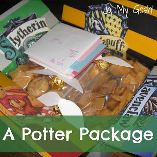 Harry Potter care package! #awesome #deployment #care package ideas