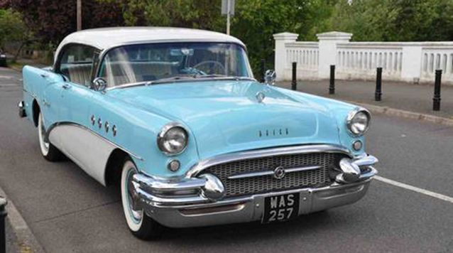 Pale Blue American Buick available for Wedding in London and Surrey. Have a look on our website for interior pictures ... Truly American   #buick #americancars #usa #weddings #londonweddings #london #hire #blue