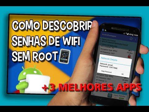 3 MELHORES APPS PARA DESCOBRIR A SENHA WIFI - YouTube