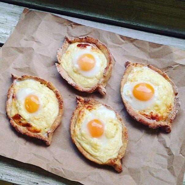 Творожные лодочки с перепелиными яйцами / Моё счастье