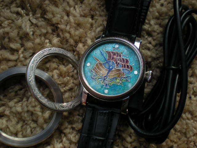 Enamel cloisonne. ( dial watch, icon, etc....) 381cce715135f66b040c308d781b4877