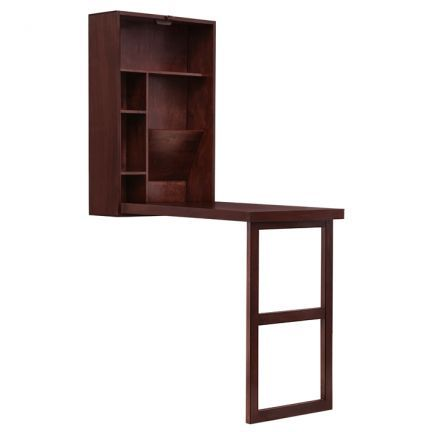 Elmwood Tirana Folding Study Table   Fold Out! A Study Table That Is As  Compact