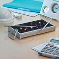 Mini table snooker game in aluminium. It works like a real one, (PGIFTSC1572) - Perkal Gift