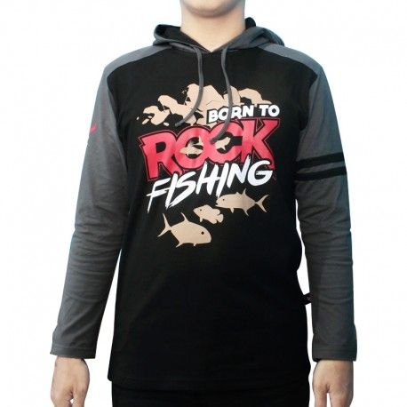 "Hoodie Mancing IFT ""BORN TO ROCK FISHING"""