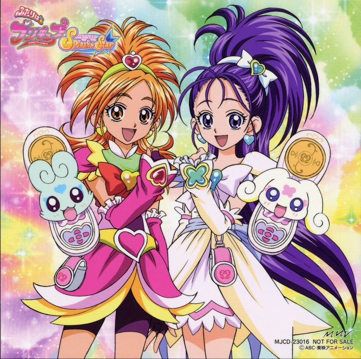 Futari wa Pretty Cure Splash Star OP ED Single - Makasete Splash ...