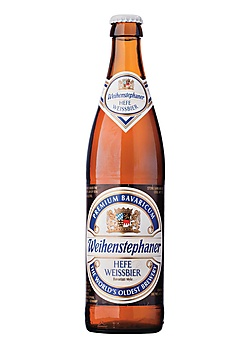 Weihenstephaner Hefe Weissbier - one of the best weiss beer I've tried