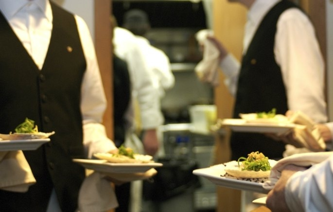 A busy night in the Pointe Restaurant.  Come and see what all of the commotion is about!