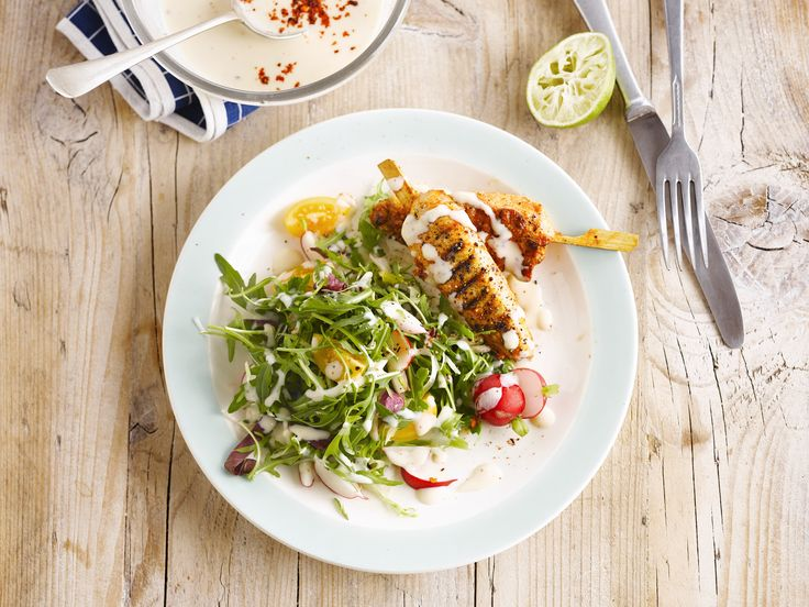 Een saladedressing met een oosterse toets en Alpro Mild & Creamy