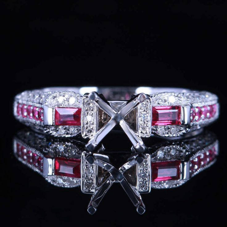 Great item for everybody.   Jewelry Promotion 2.5g Solid 14K W/GOLD Round Cut 6.5mm 0.35ct Ruby 0.18ct Natural Semi-Mount Ring retail and wholesale trade - US $348.00 http://jewelrywatchesonline.com/products/jewelry-promotion-2-5g-solid-14k-wgold-round-cut-6-5mm-0-35ct-ruby-0-18ct-natural-semi-mount-ring-retail-and-wholesale-trade/