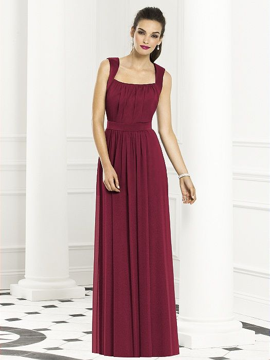 After Six Bridesmaids Style 6671 http://www.dessy.com/dresses/bridesmaid/6671/?color=burgundy=8#.UfURcGR8L6k