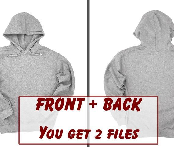 Sport Grey Front Back Hoodie Mockup Gildan 18500 Mock Up Sweatshirt Mock Up Unisex Mock Up Hoodie Mock Up Gildan Sweatshirt Mockup Hoodie Mockup Sweatshirts Mocking