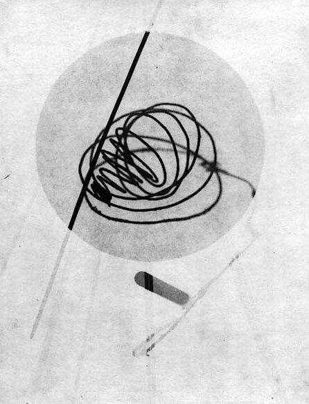 Laszlo Moholy-Nagy, Photogram, 1924