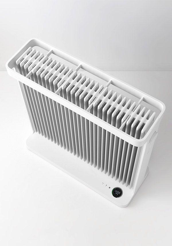 SmartHeater2 | 暖房性能が旧モデル比で10%向上しています。