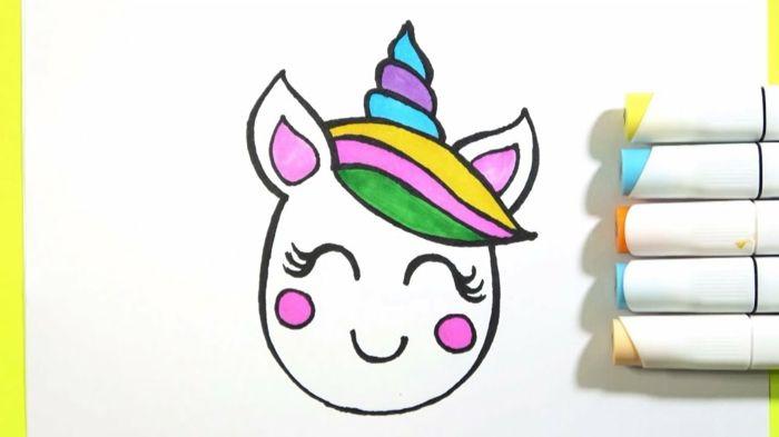 1001 Ideas De Dibujos De Unicornios Bonitos Y Faciles Dibujos De Unicornios Como Dibujar Un Unicornio Dibujos