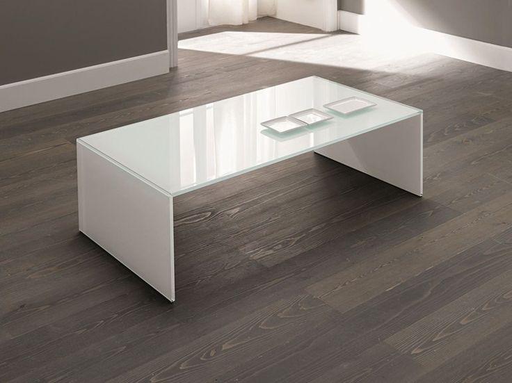 Tavolino in vetro QUBIK by T.D. Tonelli Design
