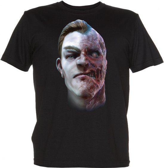 Koszulki komiksowe: Buźka Comic book t-shirt: two face