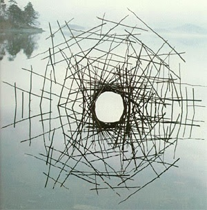 would love to see an actual piece by Andy Goldsworthy - sadly the chances are slim