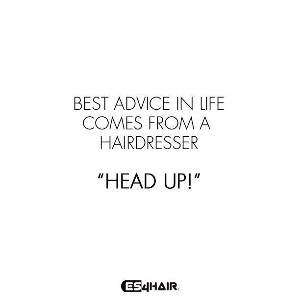 Het beste advies komt van je kapper! :-)