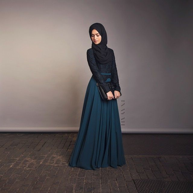 INAYAH | Reena Evening Gown + Black Georgette Hijab |  www.inayahcollection.com #Hijab #abayas #fashion #dress #dresses #islamicfashion #modestfashion #modesty #gowns #hijabfashion #modeststreetstyle #dress #modestdresses #occasional #bridal #gown #longdresses #lace #islamicdresses #covereddresses