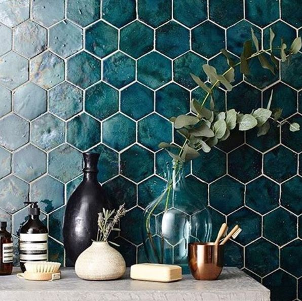 These glorious tiles by Domus Tiles will add drama to your décor for years.
