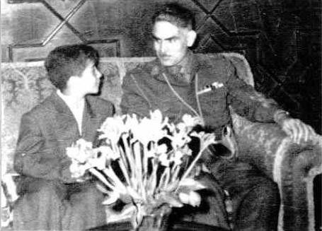 From left to right: the current President of south Kurdistan, Massoud Barzani as a kid (the son of General Mustaffa Barzani) and the former Iraqi president Abdulkarim Qasim.this picture is probably taken somewhere in the 50's of the pastcentury