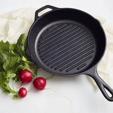 Lodge Cast Iron Grill Pan #WestElm
