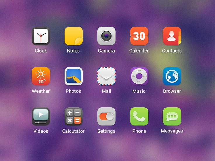 Android Launcher Icons by Ashung Hung