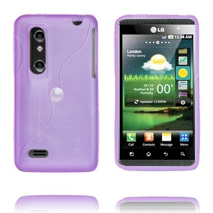 Storm (Lilla) LG Optimus 3D Cover