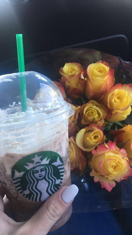 Starbucks roses coffee coffeelover gm