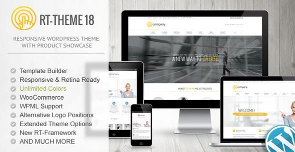 ThemeForest - RT-Theme 18 Responsive WordPress Theme  Free Download