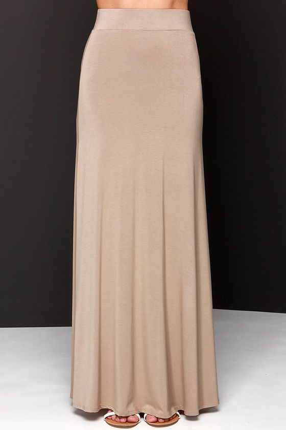 17 best ideas about Brown Maxi Skirts on Pinterest | Linen dresses ...