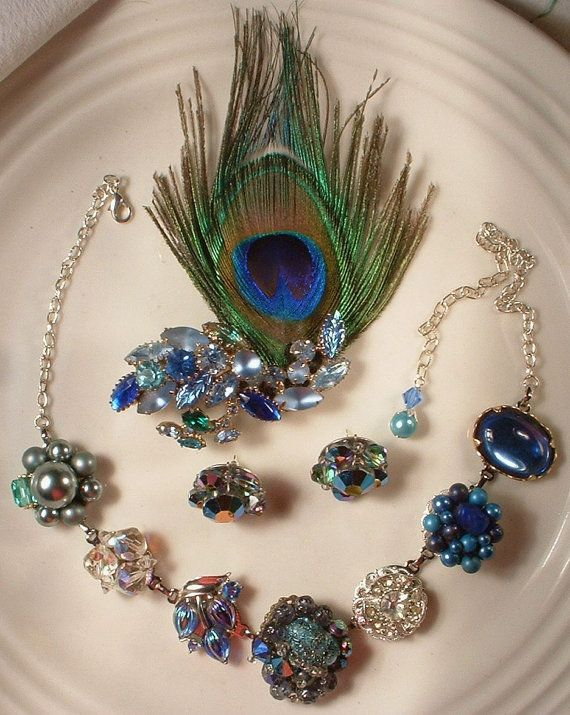 Custom made vintage jewelry! Amore Treasure.. check it out!