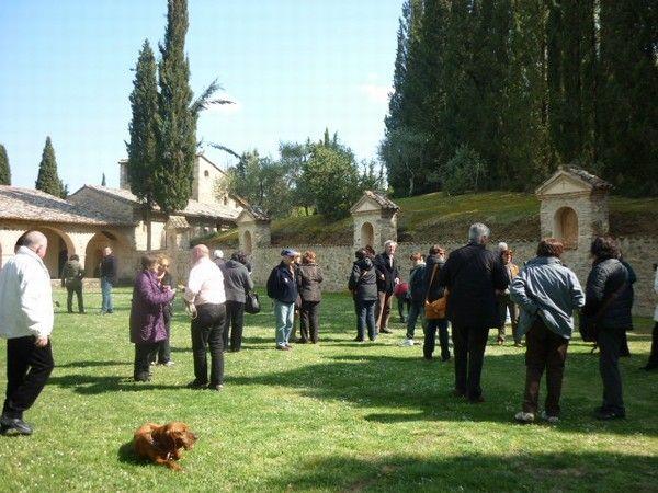 Foto di viaggio: Visita alla Città Buzziana: La Scarzuola - cortile interno