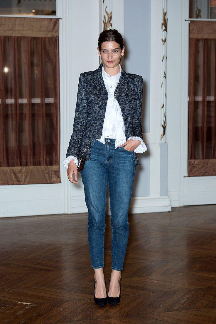 Alma Jodorowsky y la reinvenci�n del denim, classic look