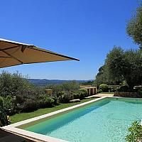 Holiday Villas in Luxury Collection with Private Pool, 'close to COTE d'AZUR', Availability between 12/09/2015 AND 19/09/2015, sleeps between 7 and 8 for rental in the South of France