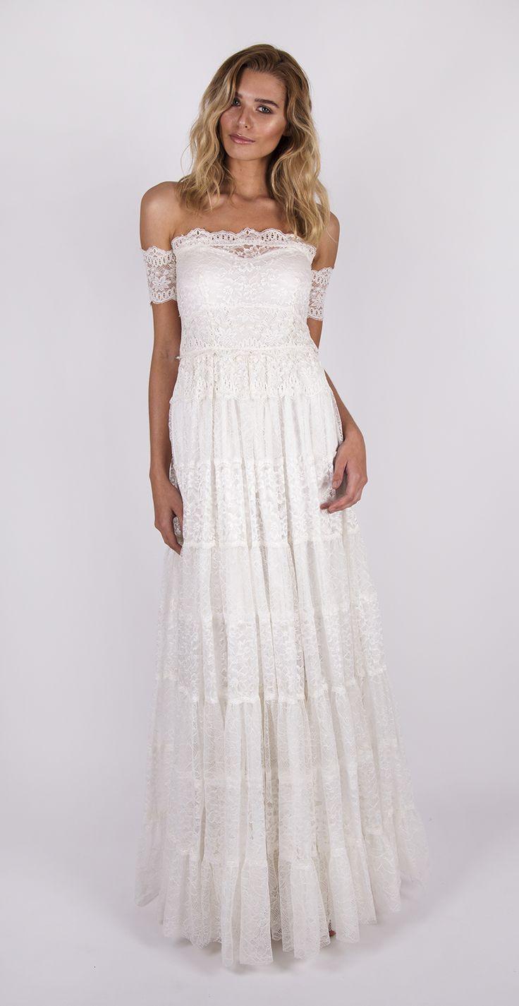 1193 best dream dresses images on pinterest bridal gowns for Hippie dresses for weddings