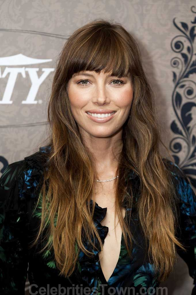 Jessica Biel Hairstyle on oscar blandi hair salon nyc