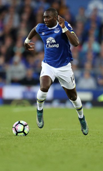 Yannick Bolasie of Everton during the Premier League match between Everton and…