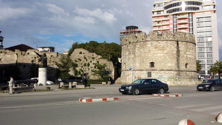 Tarihi Kale Durres Arnavutluk