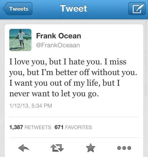 Of Course Twitter Flipped Out When Frank Ocean Didn't ...