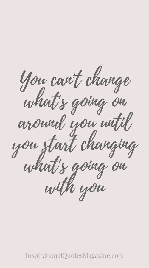 Inspirational Quote about Life and Change - Visit us at InspirationalQuotesMagazine.com for the best inspirational quotes! https://www.musclesaurus.com