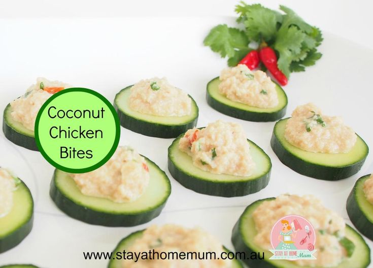 Coconut Chicken Bites   Stay at Home Mum