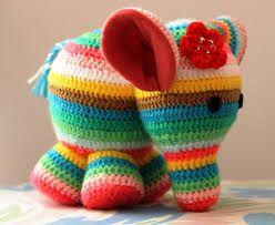 Elefant en ganxet