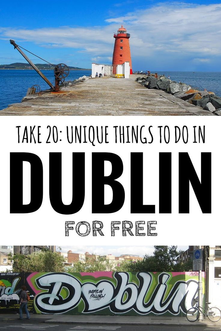 20 Unique Things To Do In Dublin For Free                                                                                                                                                      More