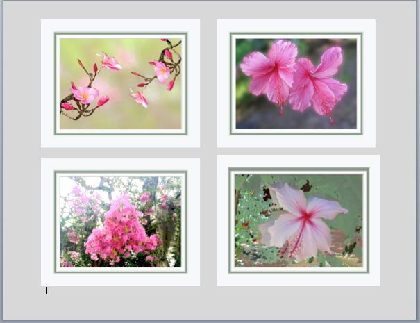 Wall Grouping of Soft Pink and Green Florals. Four 8 x 10 Original Designs with Printed Faux Mats. Easy to Frame. First Anniversary Gift. by VintageArtForLiving on Etsy https://www.etsy.com/listing/513135545/wall-grouping-of-soft-pink-and-green