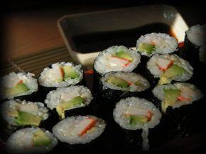 pour le riz à sushi, à maki  recette parfaite, dosage nikel