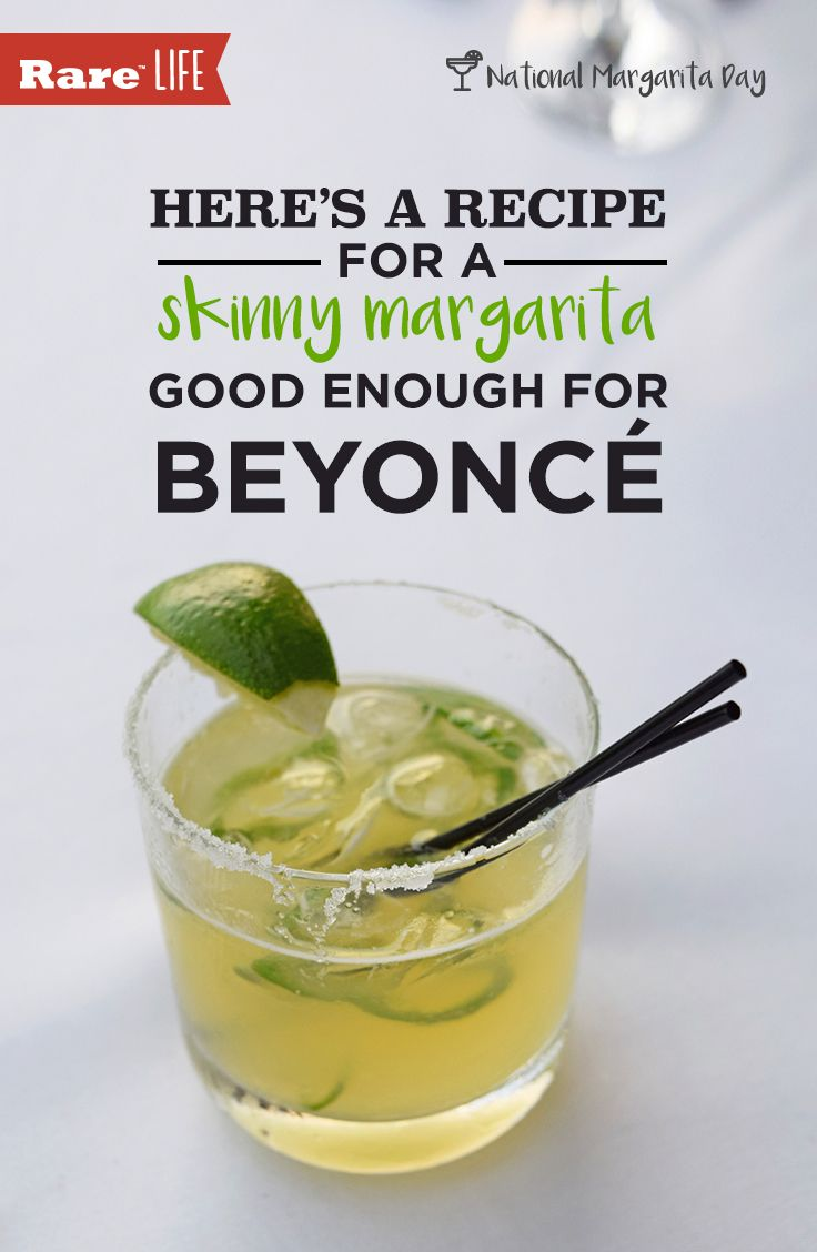 Here's a recipe for a skinny margarita good enough for ...