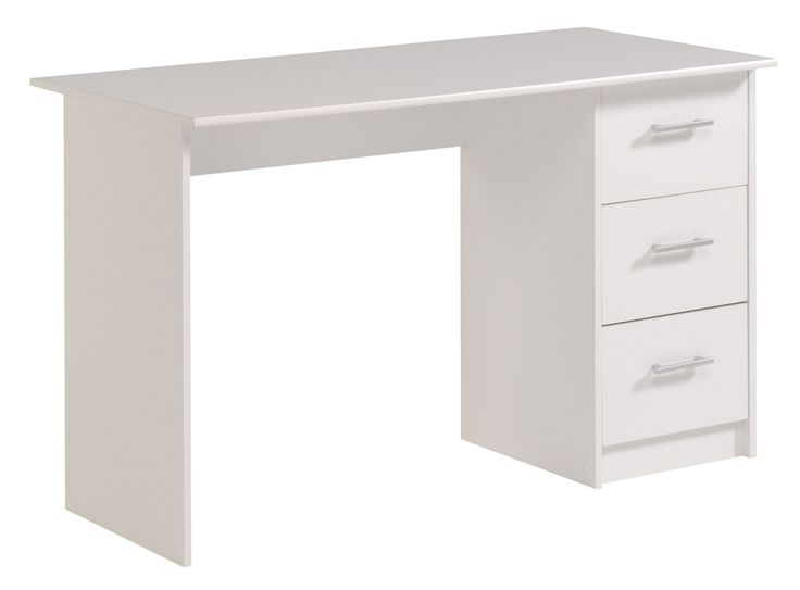 Schreibtisch Weiss Woody 167-00590 Holz Klassisch Jetzt bestellen unter: https://moebel.ladendirekt.de/buero/tische/schreibtische/?uid=b44663ae-332e-51c1-8a5c-5cb14e82975f&utm_source=pinterest&utm_medium=pin&utm_campaign=boards #buero #tische #schreibtische