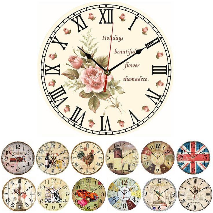 Oltre 25 fantastiche idee su orologi da parete d 39 epoca su for Orologi da parete vintage